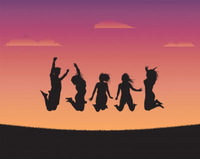 teen children yoga calm